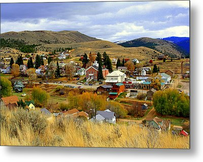Metal Print featuring the photograph Ghost Town by Lynn Bawden