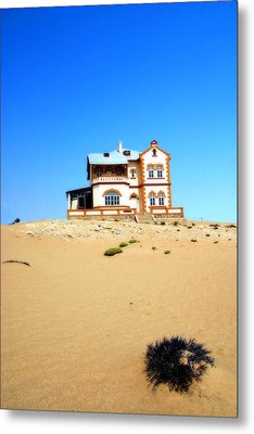 Metal Print featuring the photograph Ghost Town Namibia by Riana Van Staden
