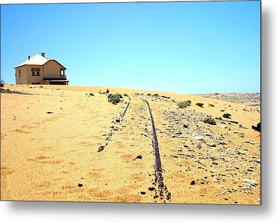 Metal Print featuring the photograph Ghost Town by Riana Van Staden