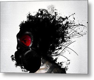 Ghost Warrior Metal Print by Nicklas Gustafsson