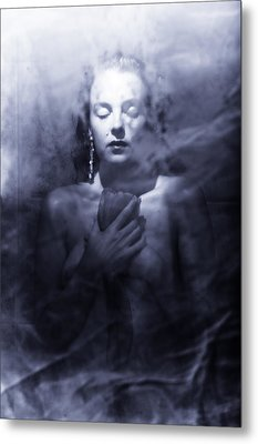 Ghost Woman Metal Print by Scott Sawyer