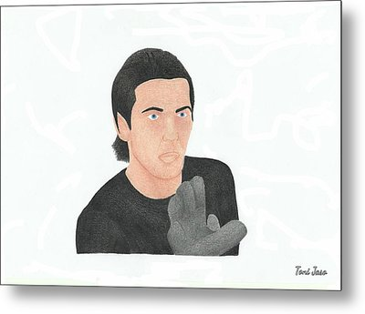 Gianluigi Buffon Metal Print by Toni Jaso