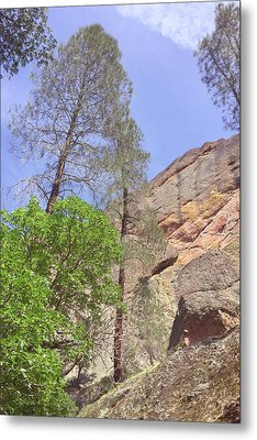 Metal Print featuring the photograph Giant Boulders by Art Block Collections