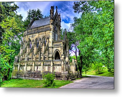 Giant Spring Grove Mausoleum Metal Print by Jonny D