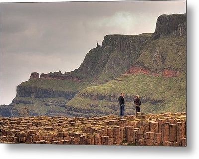 Metal Print featuring the photograph Giants Causeway by Ian Middleton