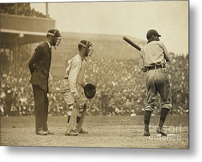 Giants Versus Pirates Metal Print