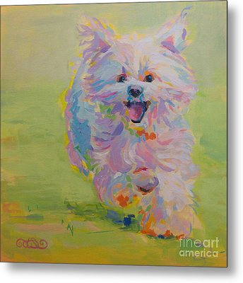 Gigi Metal Print by Kimberly Santini