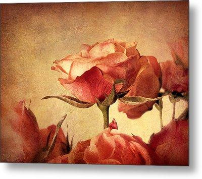 Gilded Roses Metal Print