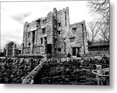 Gillette Castle Metal Print by Catherine Reusch Daley