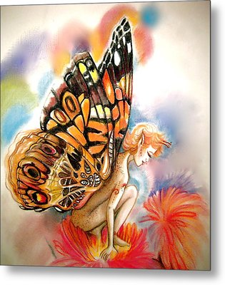 Gillyflower Metal Print by L Lauter