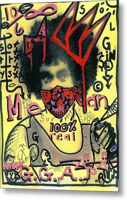 Gillys Got A Posse Metal Print by Robert Wolverton Jr