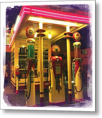 Gilmore Station Metal Print by Nina Prommer