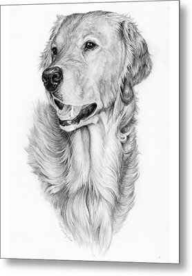 Ginger Metal Print by Laurie McGinley