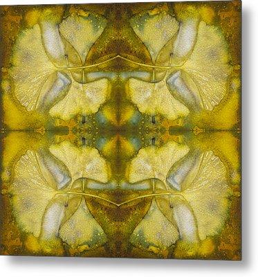 Metal Print featuring the photograph Gingko Quad by Joye Ardyn Durham