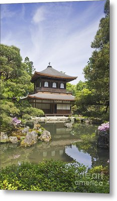 Ginkakuji Temple Metal Print by Rob Tilley