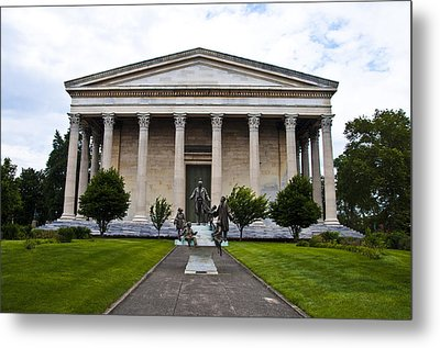 Girard College Philadelphia Metal Print by Bill Cannon