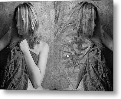 Girl #4335 Metal Print by Andrey Godyaykin