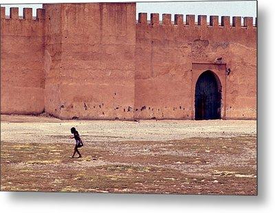 Girl In Marrakesh  Metal Print