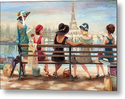 Girls Day Out Metal Print