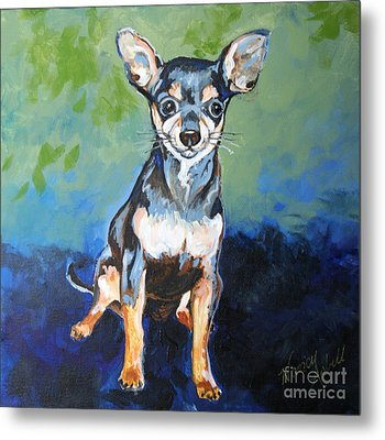 Giuseppe Metal Print by Michele Hollister - for Nancy Asbell