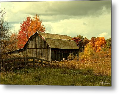 Metal Print featuring the photograph Fall Has Always Been My Favorite Season. by Skip Tribby