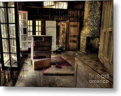 Given Up Metal Print by Michael Eingle