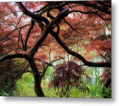 Giverny Gardens Metal Print by Jim Hill