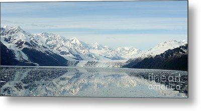 Glacier Bay Reflections Metal Print