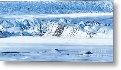 Glacier Ice Rocks Metal Print by Svetlana Sewell
