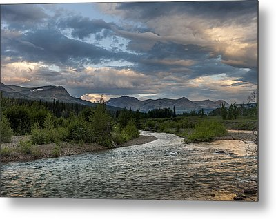 Metal Print featuring the photograph Glacier National Park 100th Anniversery by Kevin Blackburn