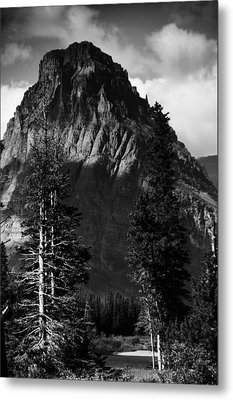 Metal Print featuring the photograph Glacier National Park Fifty Three by Kevin Blackburn