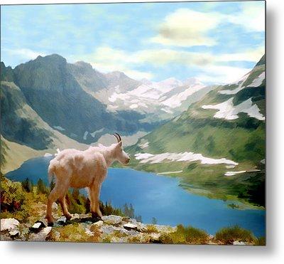 Glacier National Park Metal Print by Kurt Van Wagner