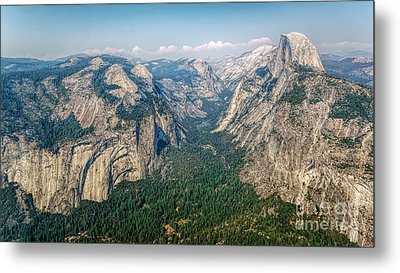 Glacier Point Yosemite Np Metal Print