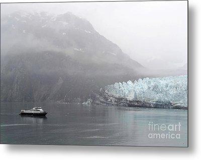 Glacier Ride Metal Print by Zawhaus Photography