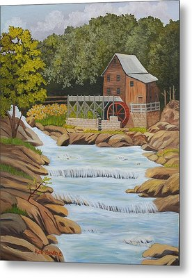 Glade Creek Grist Mill West Virginia Sold Metal Print by Ruth  Housley