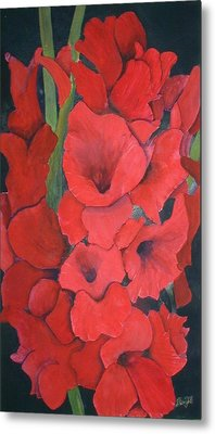 Glads Metal Print by Dwight Williams