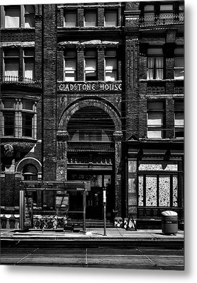 Metal Print featuring the photograph Gladstone Hotel Toronto Canada No 1 by Brian Carson