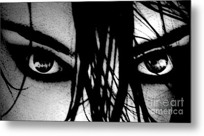 Glare Metal Print by Tbone Oliver