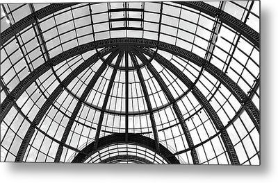 Metal Print featuring the photograph Glass Dome by Corinne Rhode