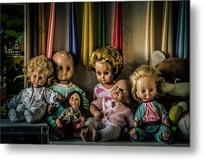 Metal Print featuring the photograph Glassy Eyed Menagerie by Odd Jeppesen