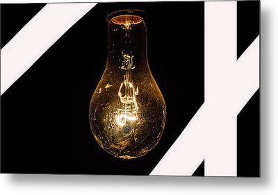 Glass Light Art Metal Print