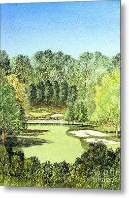 Glen Abbey Golf Course Canada 11th Hole Metal Print by Bill Holkham