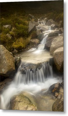 Glen River Nearer To The Source Metal Print