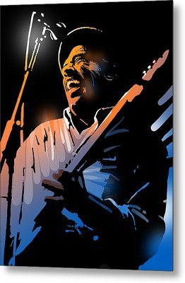 Glen Terry Metal Print by Paul Sachtleben