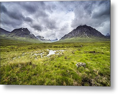 Metal Print featuring the photograph Glencoe by Jeremy Lavender Photography