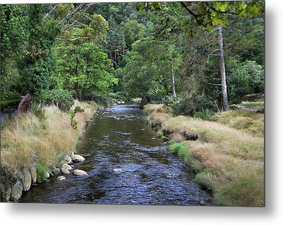Metal Print featuring the photograph Glendasan River. by Terence Davis
