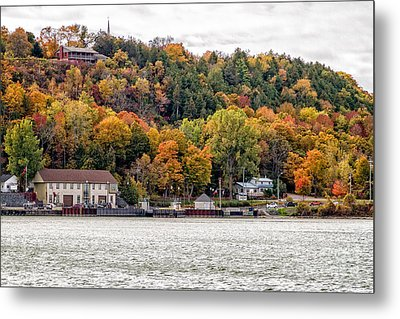 Glenora Ferry Dock Metal Print