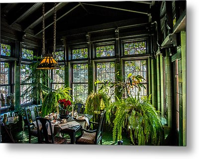 Glensheen Mansion Breakfast Room Metal Print by Paul Freidlund