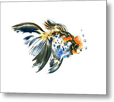 Goldfish Metal Print by Suren Nersisyan