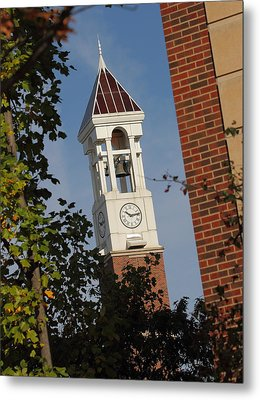 Glimpse Of The Bell Tower Metal Print